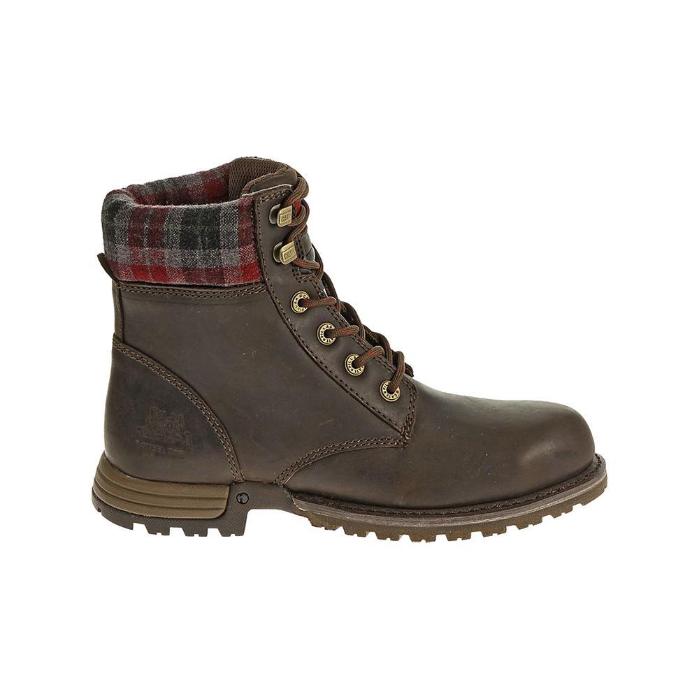 Work Boots - Steel Toe - Bark Size