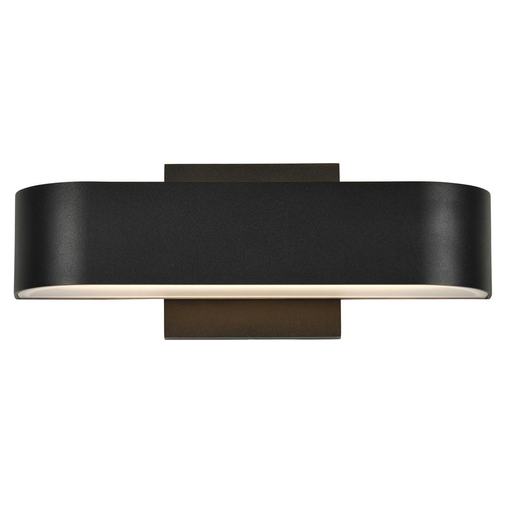 Access Lighting Montreal Medium 1-Light Black LED Outdoor Wall Mount Sconce