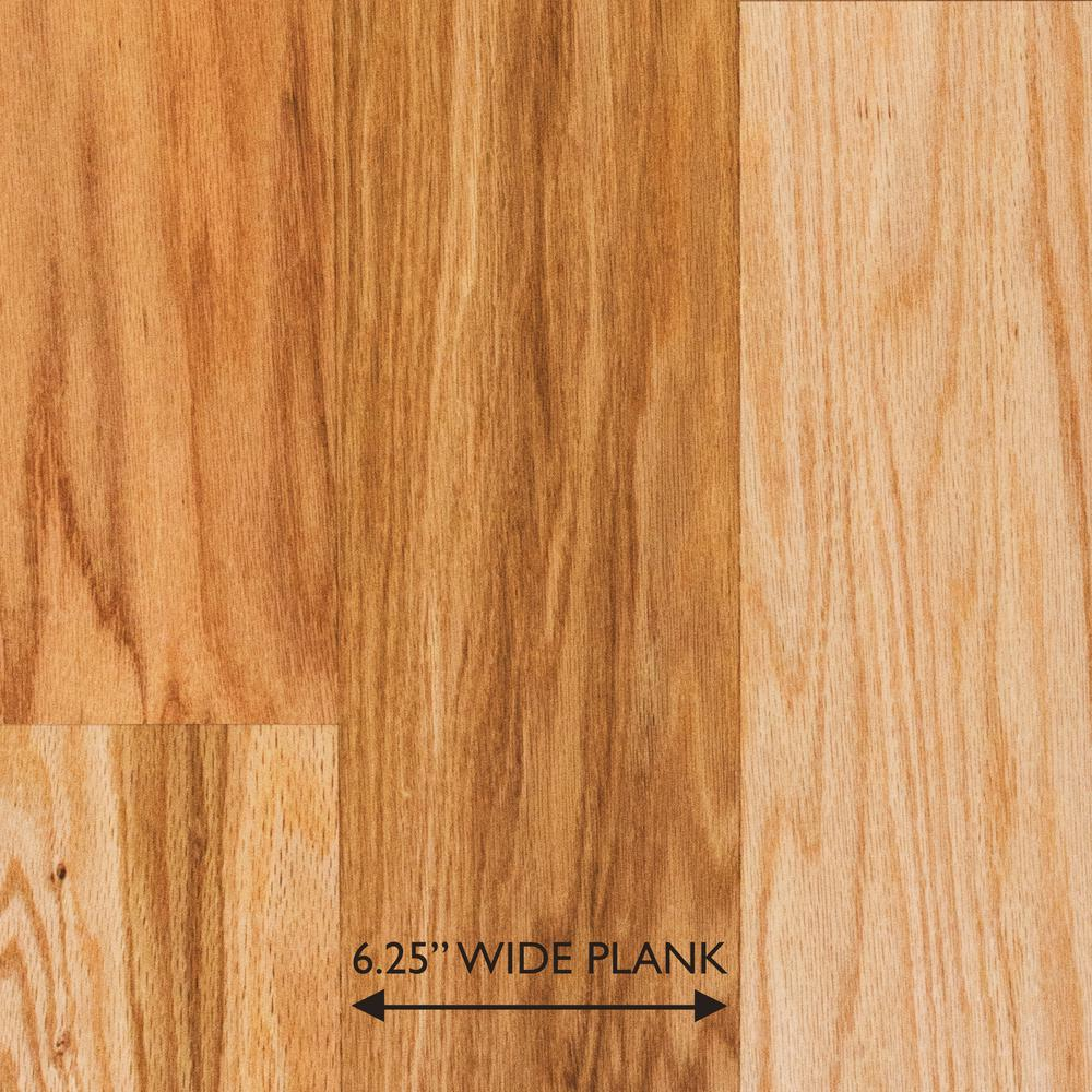 Red Oak Natural 3/8 in. Thick x 6-1/4 in. Wide x