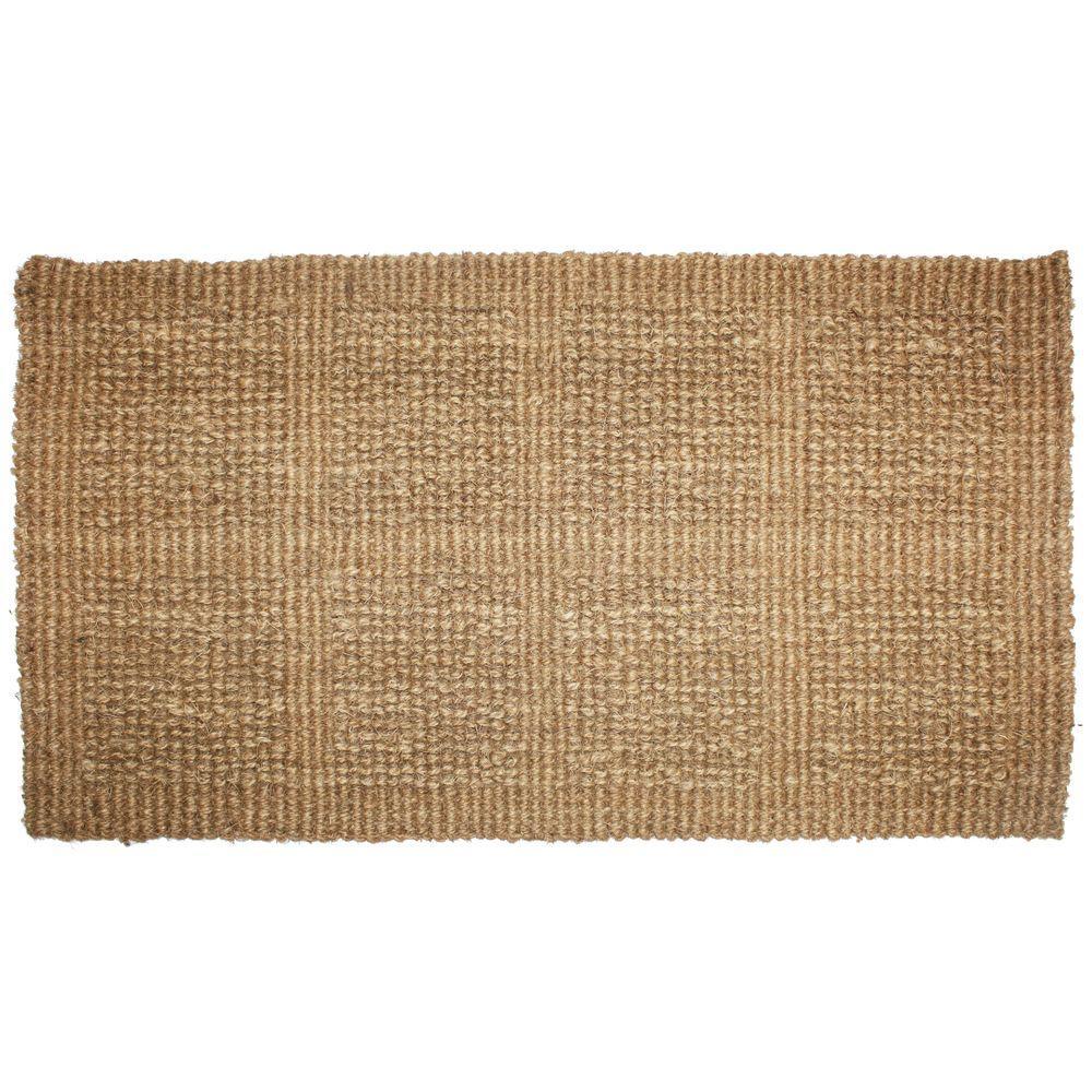 woven coco door mat