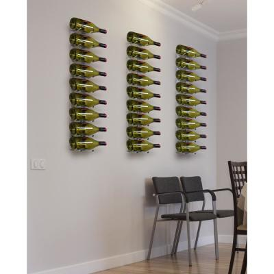 9-Bottle Stainless Epic Metal Wine Rack