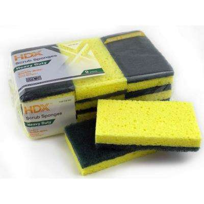 Heavy-Duty Scrub Sponge (9-Pack)