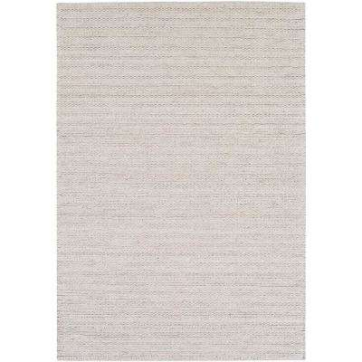 Vasilisa Light Gray 8 ft. x 10 ft. Area Rug