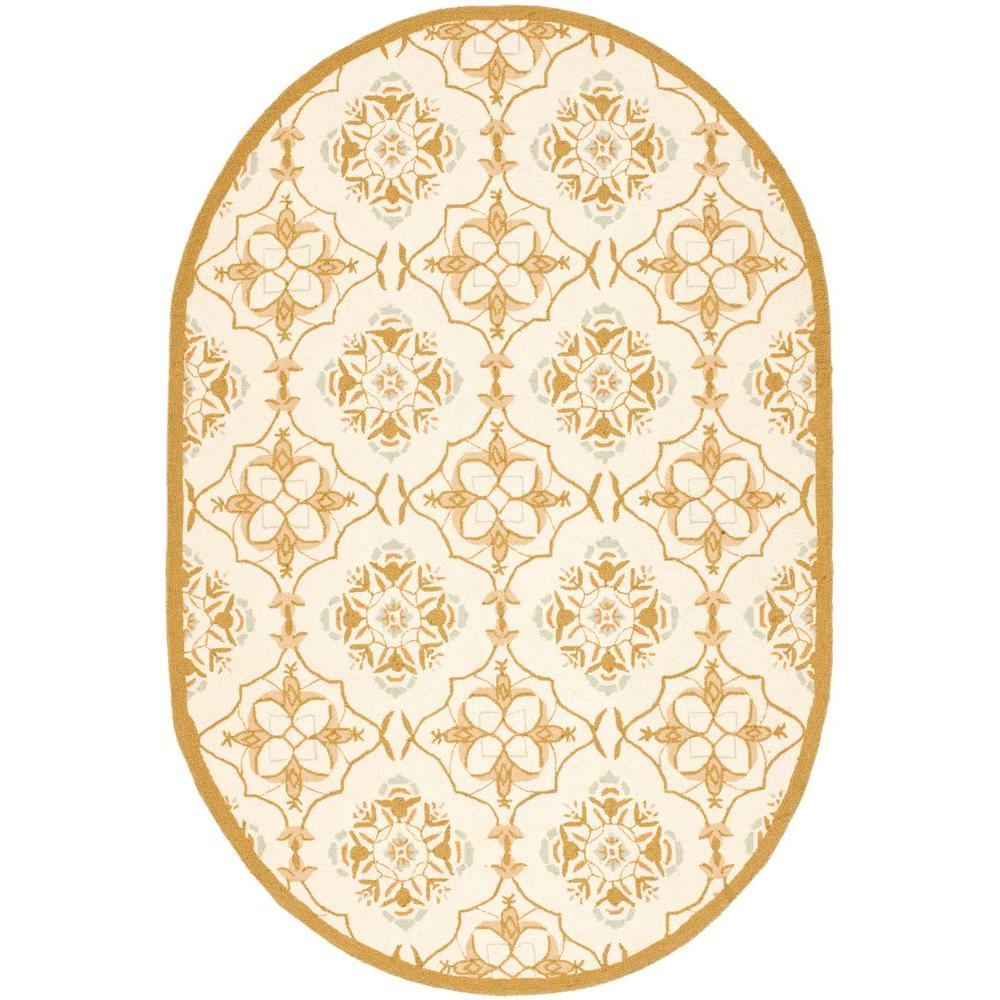 Chelsea Ivory/Green 7 ft. 6 in. x 9 ft. 6 in.