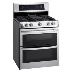 ge pgs950sefss profile 30u201d stainless steel slidein range 16 lg electronics 69 cu ft double oven gas range with probake convection