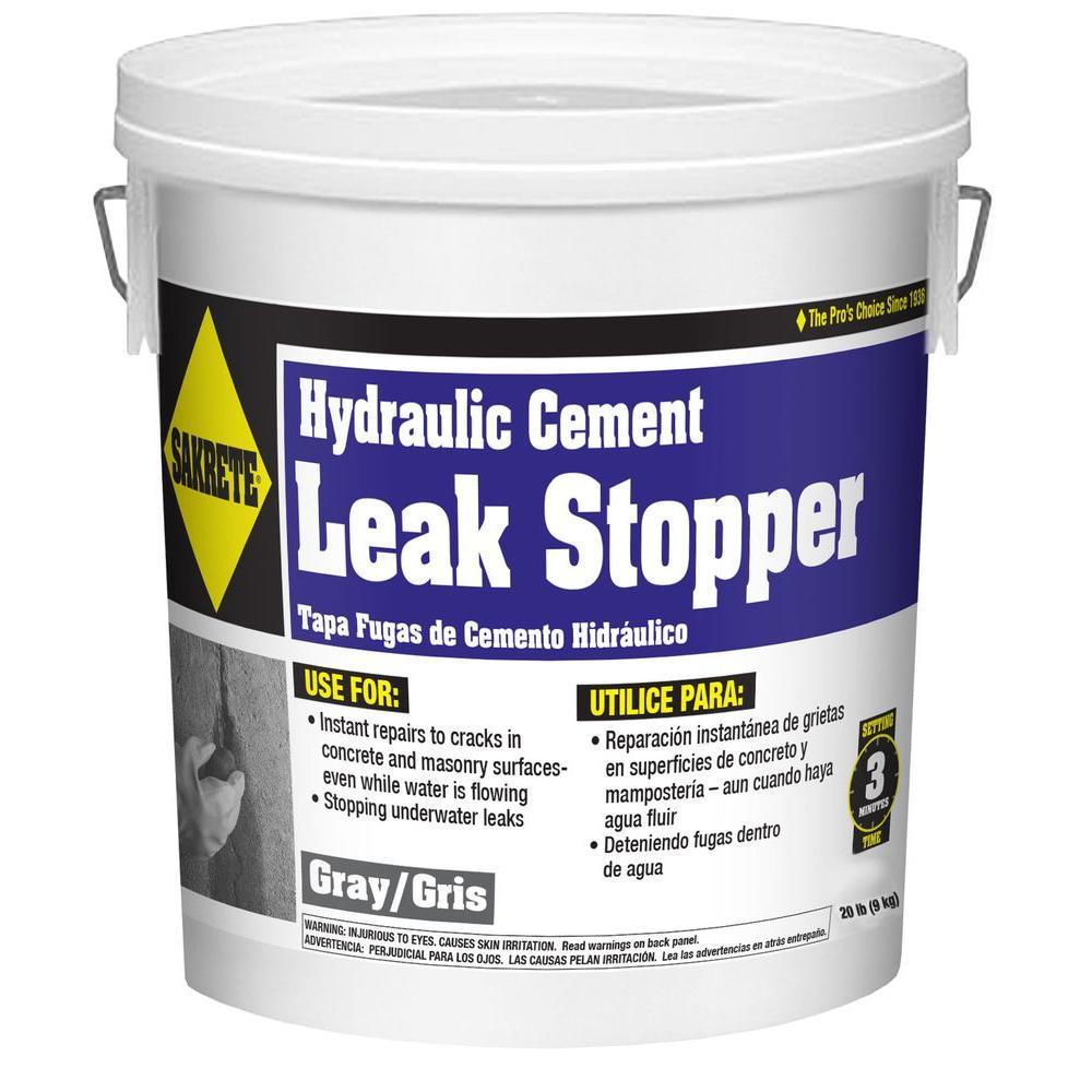 SAKRETE 20 lb. Gray Leak Stopper