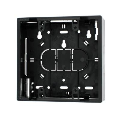 2-Gang 1.89 in. Box Depth Surface Mount Back Box, Black