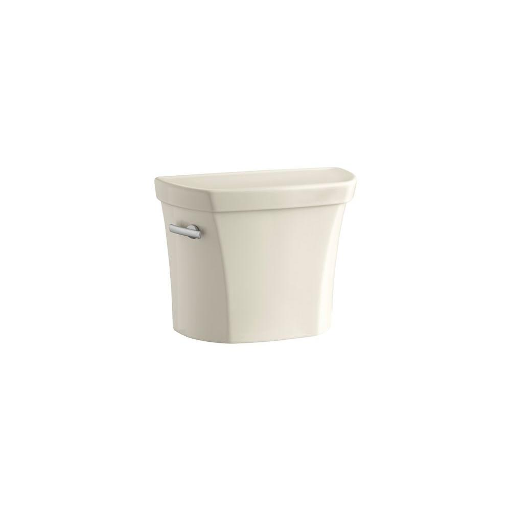 Wellworth 1.6 GPF Toilet Tank Only with Locks in Almond