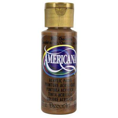Americana 2 oz. Milk Chocolate Acrylic Paint