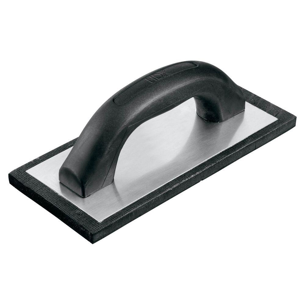 HDX 4 in. x 9 in. Economy Rubber Grout Float