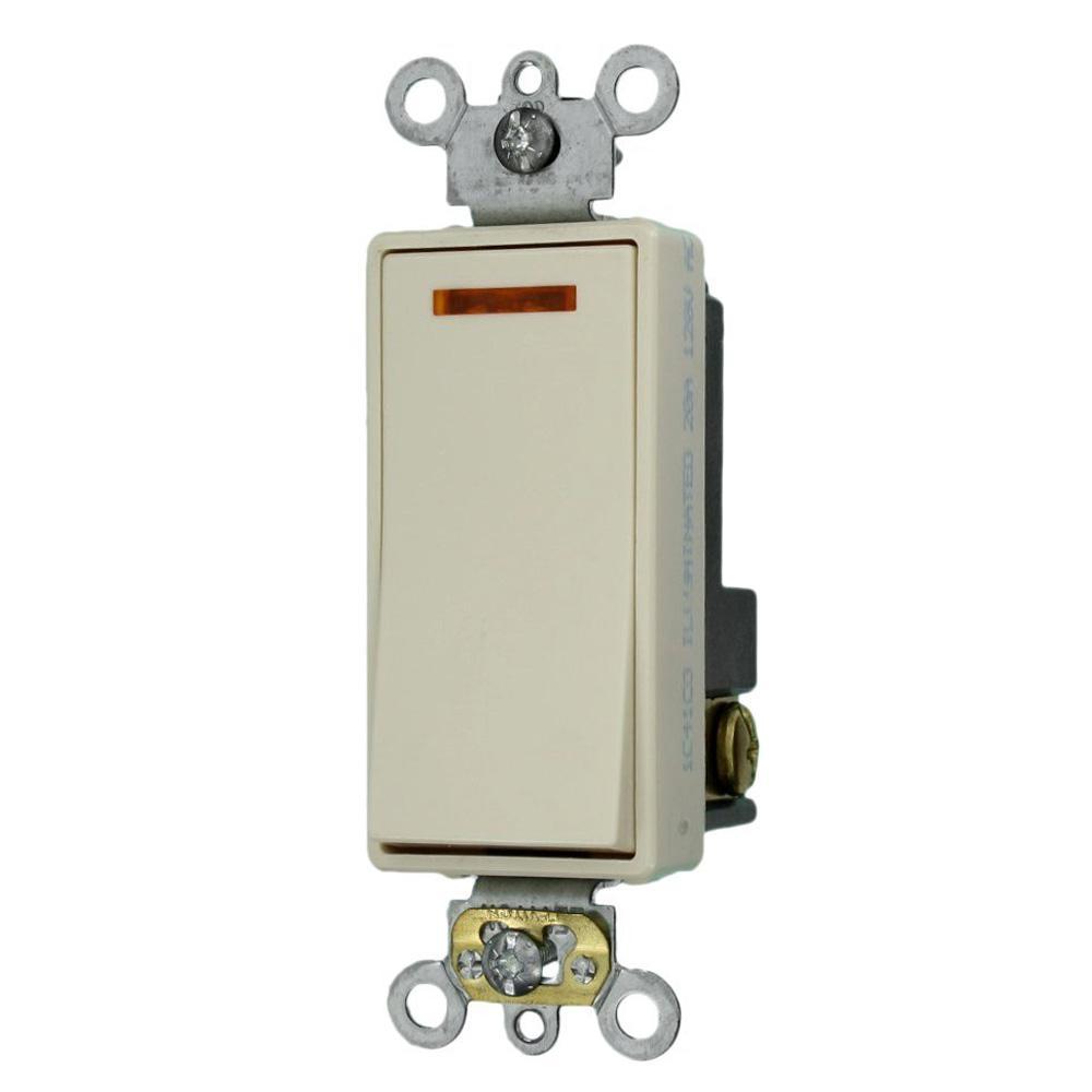 leviton 20 amp decora plus commercial grade single pole lighted rh homedepot com