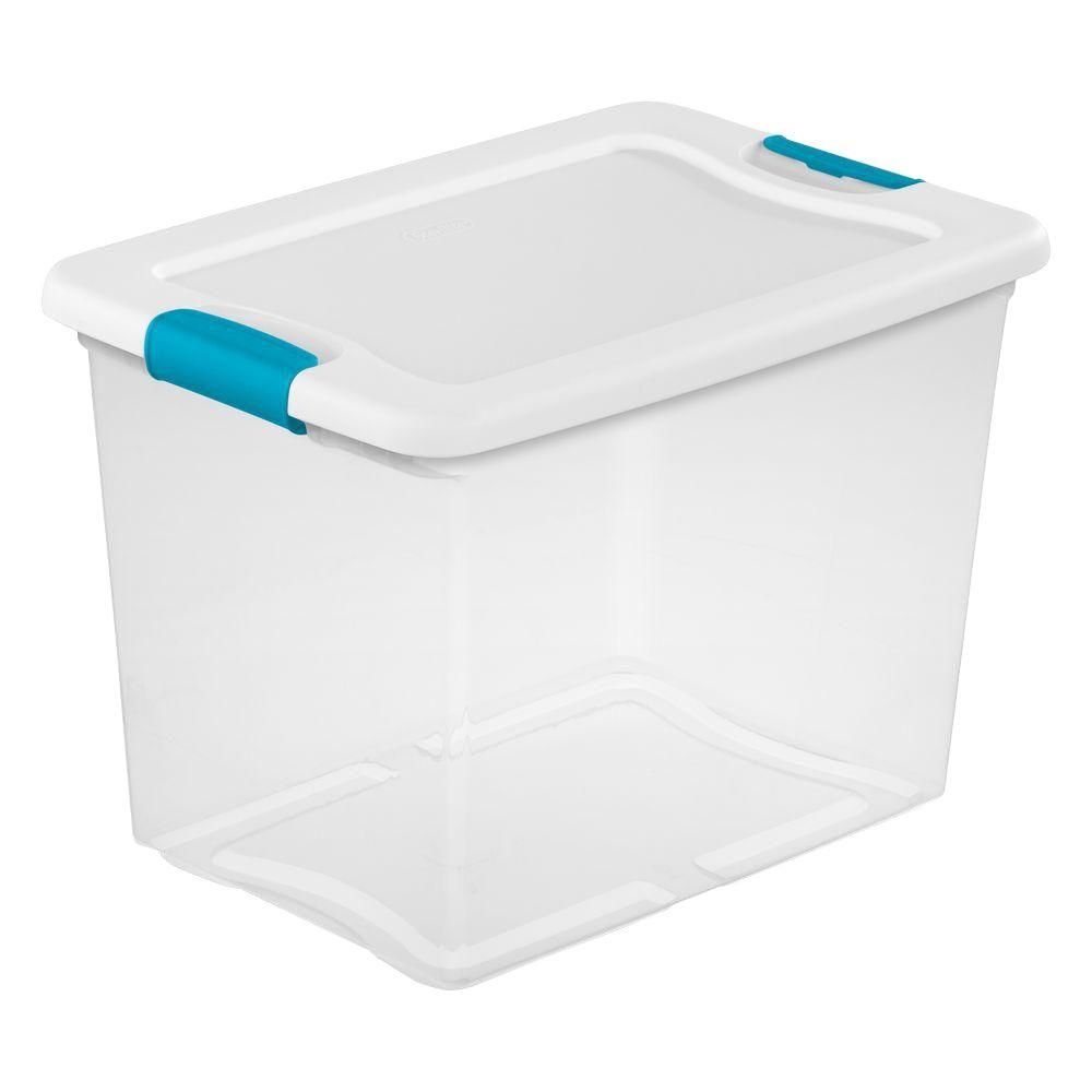 Sterilite 25 Qt. Latching Storage Box