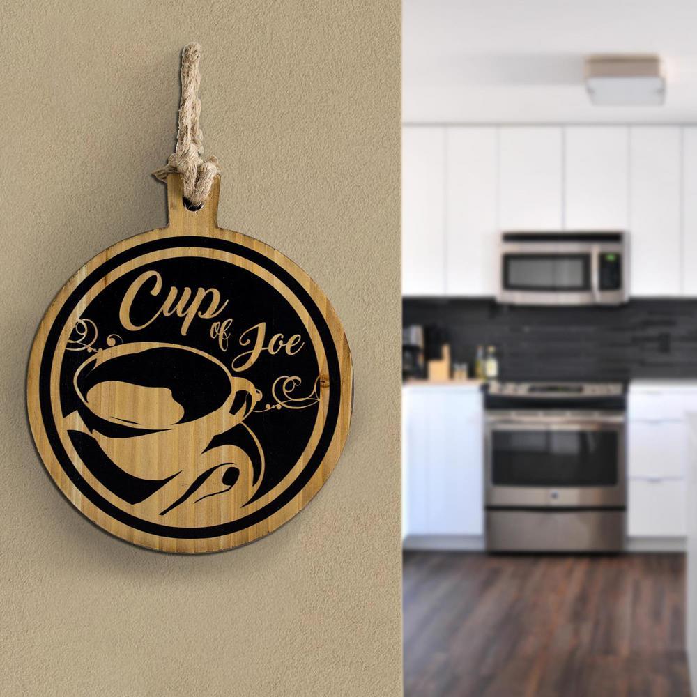Cup of Joe Wood Coffee Wall Decor