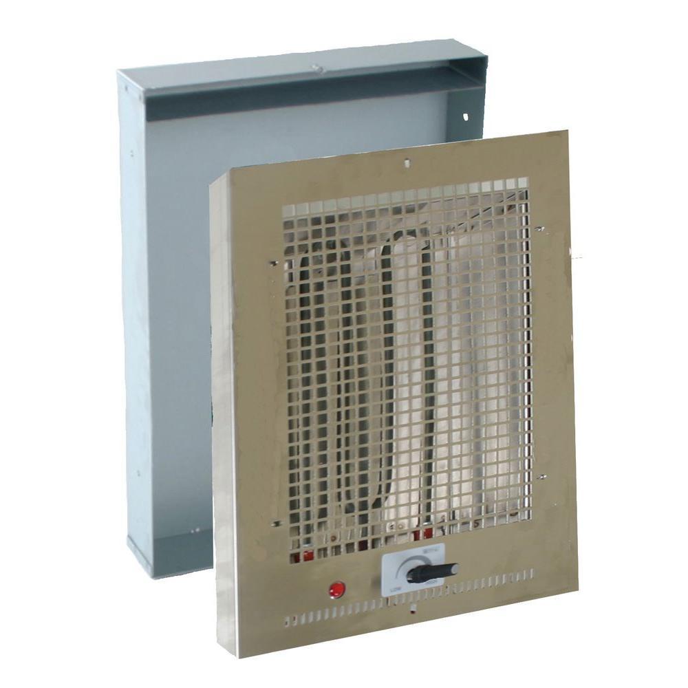 null 17-1/4 in. 500-Watt Radiant Heat Bathroom Wall Mounted Heater-DISCONTINUED