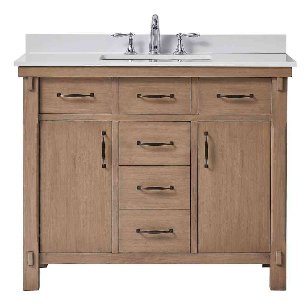 Home Decorators Collection Bellington 42 in. W x 22 in. D Vanity - Sale: $779.40 USD (40% off)