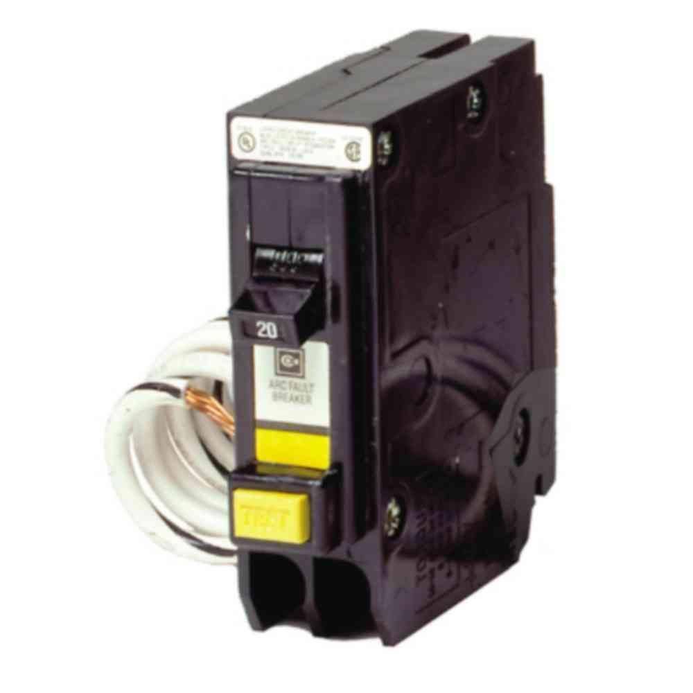 Eaton 20 amp BR Combination AFCI Single Pole Breaker