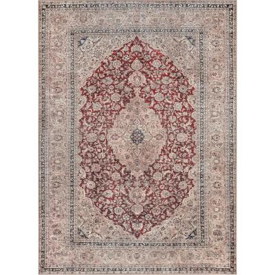 Red Machine Washable Area Rugs