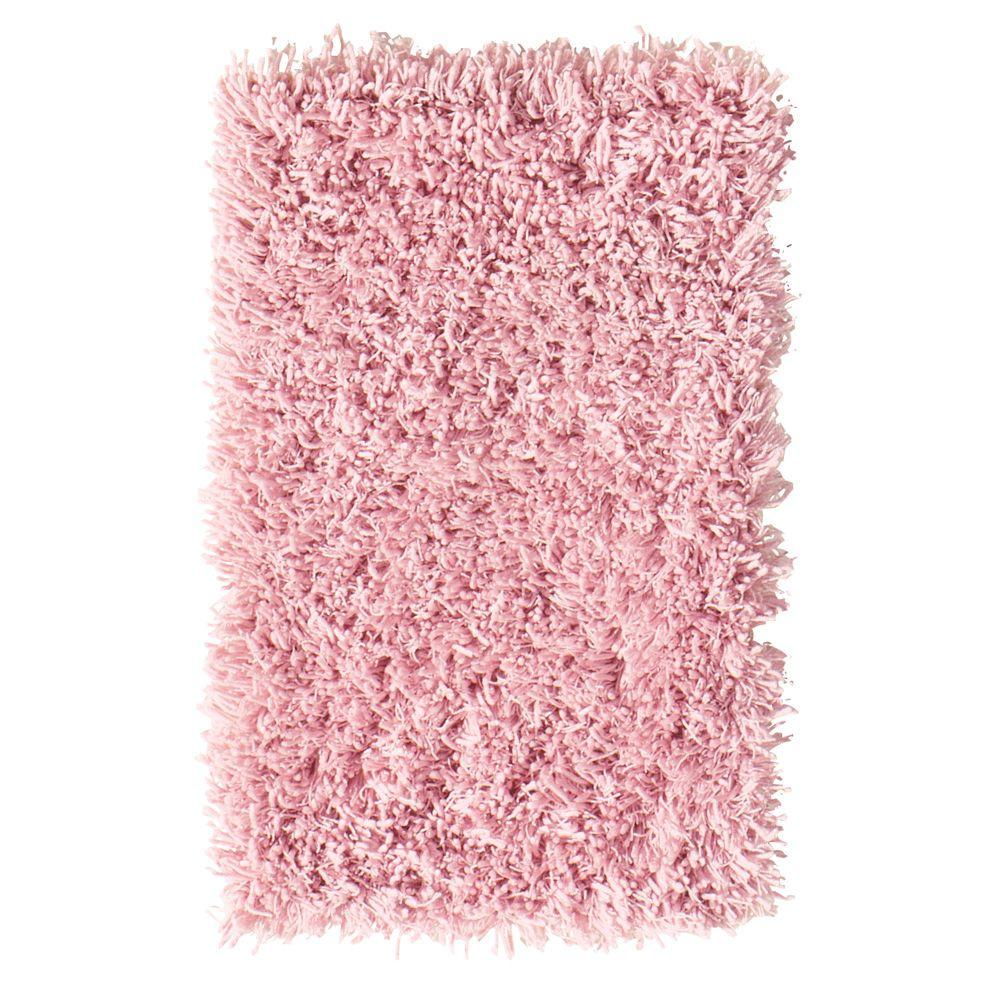 Home Decorators Collection Ultimate Shag Pink 8 ft. x 10 ft. Area Rug