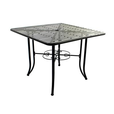 French Quarter Steel Outdoor Dining Table