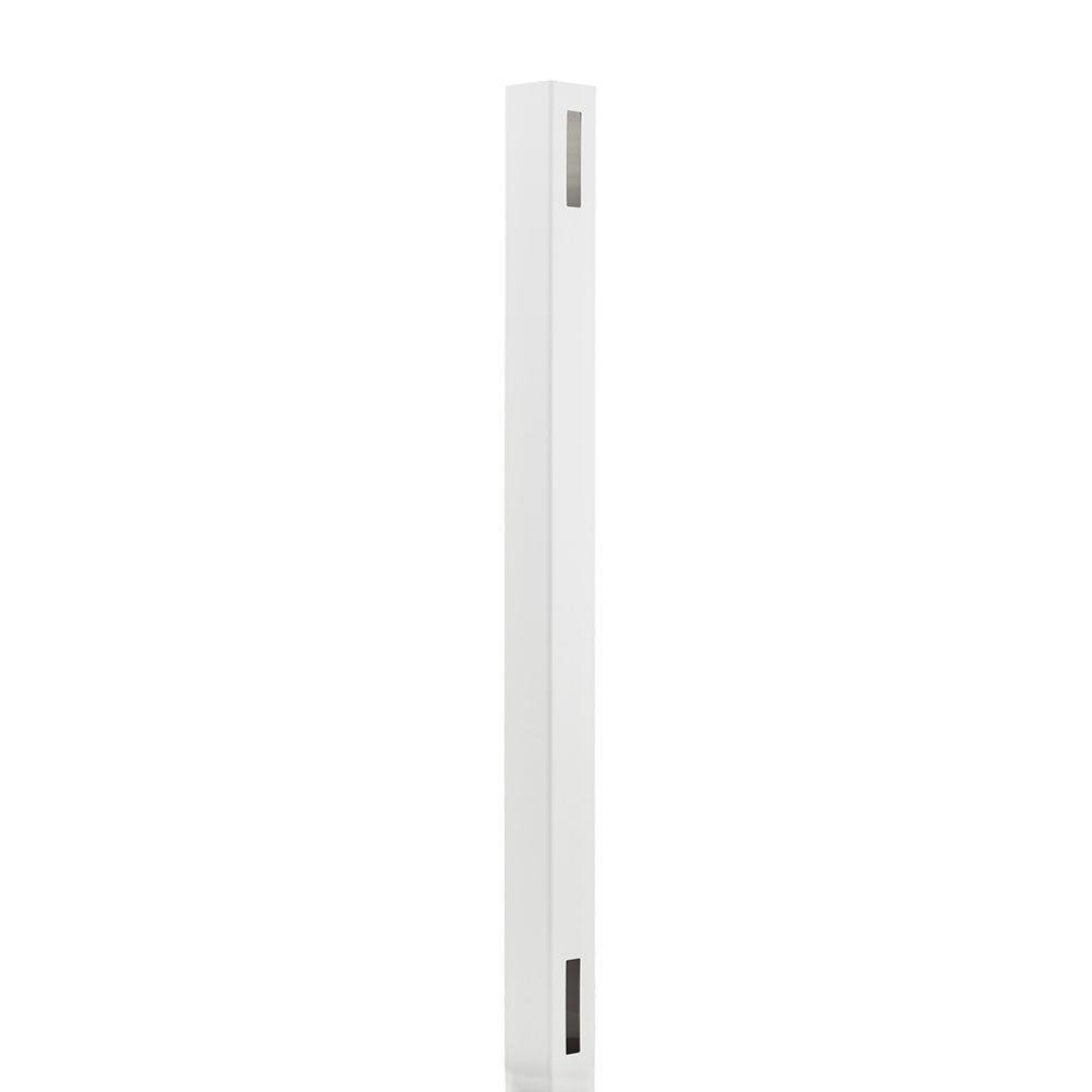 LaFayette 4 in. x 4 in. x 6 ft. White Vinyl