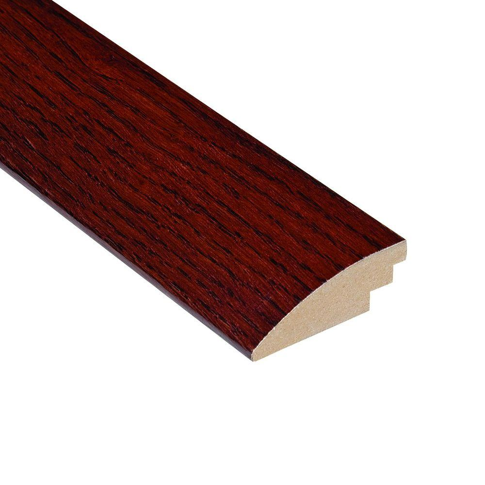 Home Legend High Gloss Teak Cherry 1/2 in. Thick x 2 in. Wide x 78 in. Length Hardwood Hard Surface Reducer Molding