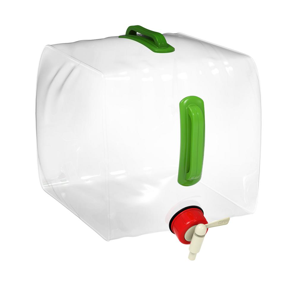 Whewer Portable Water Container 5L 12L Car Portable Handheld Water Container with Faucet Camping Water Storage Jug