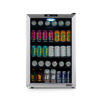 21 in. 160 Can Beverage Cooler Freestanding with SplitShelf and Precision Digital Thermostat