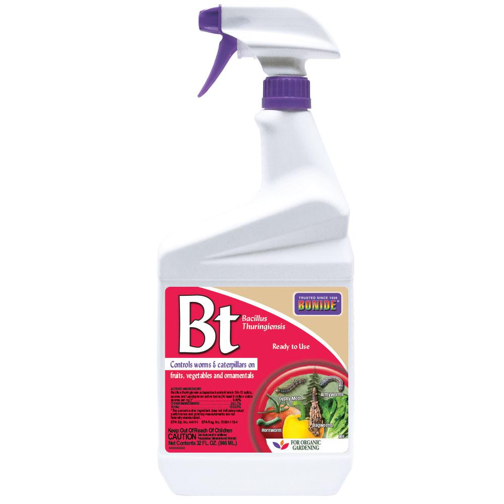 Bonide 32 Oz Bt Thuricide Liquid Ready To Use 8066 The Home Depot