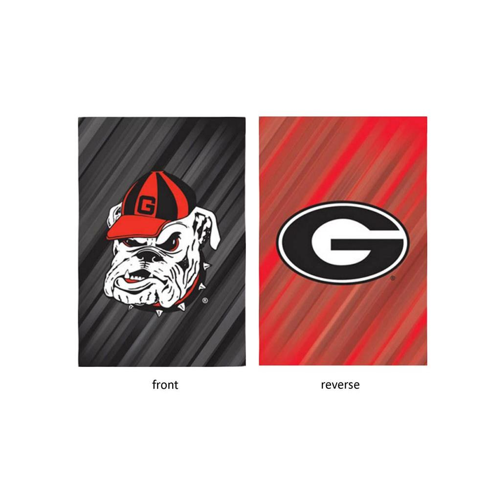 Fan Essentials NCAA 18 in. x 12.5 in. University of Georgia Suede Garden Flag