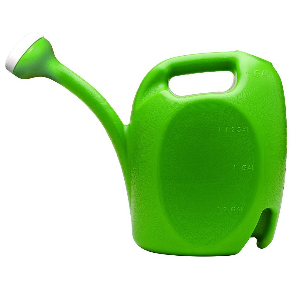 Southern Patio 2 Gal Green Watering Can