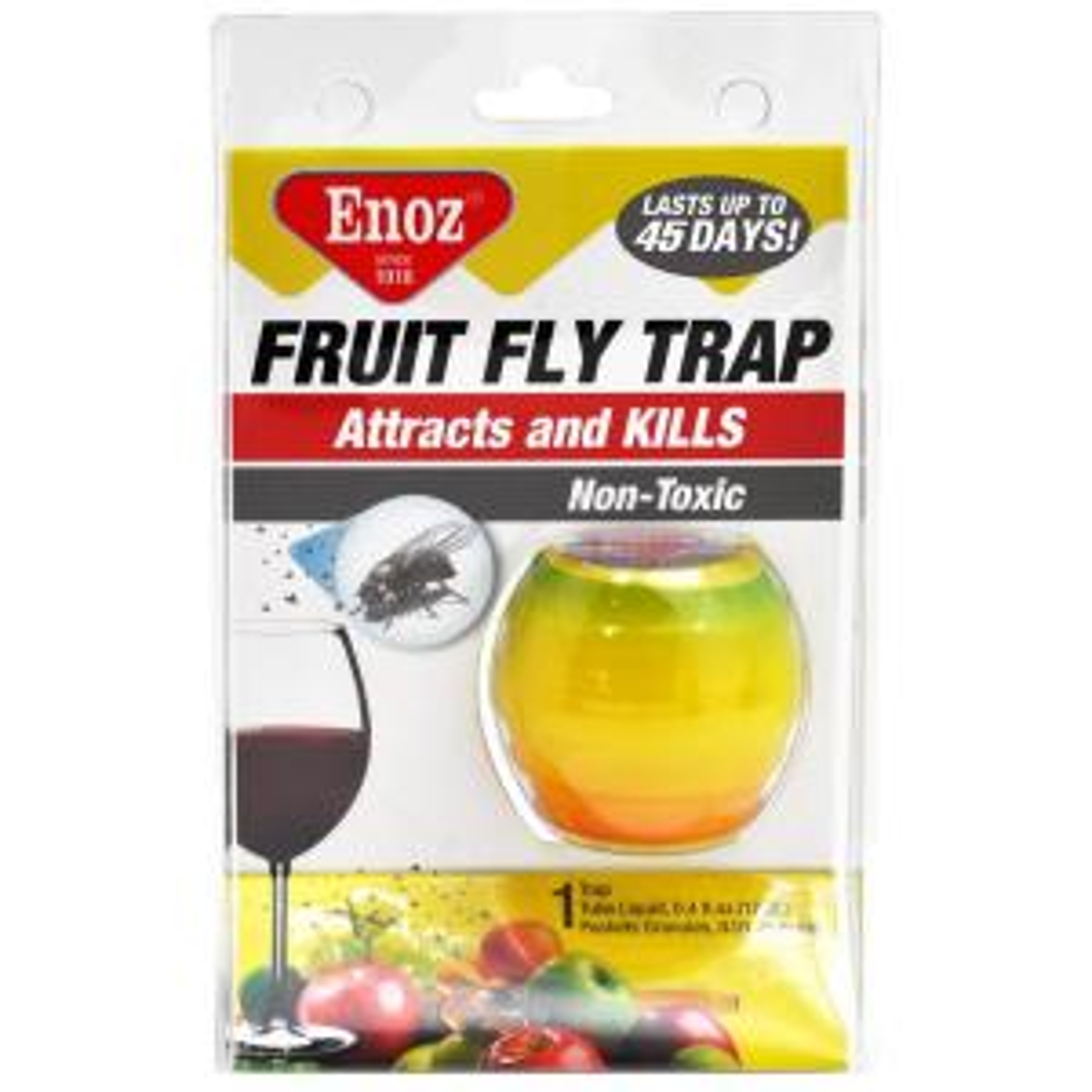Enoz Fruit Fly Trap (3-Pack) by Enoz