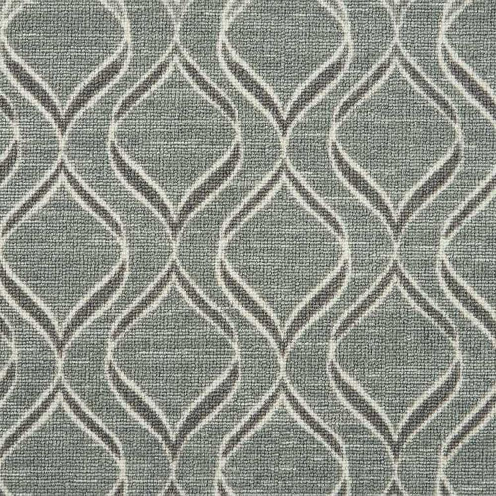 Natural Harmony Sublittoral Metal Custom Rug With Pad