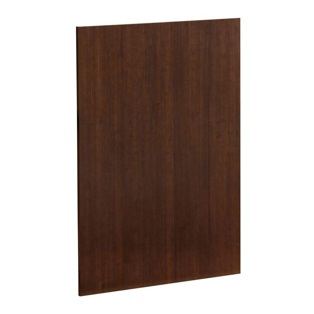 Heartland Cabinetry Heartland Ready to Assemble 23.6 x 34.5 x 0.06 in. Base End Panel in Cherry