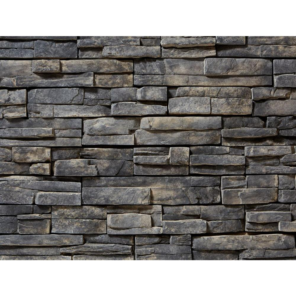 ClipStone Prostack Ash Corners 26-3/4 in. x 16 in. 6 lin. ft ...