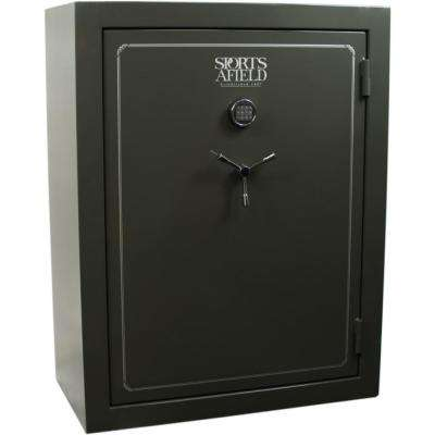 Standard Series 72 Gun Fire Rated, E Lock Gun Safe, Silver Vein