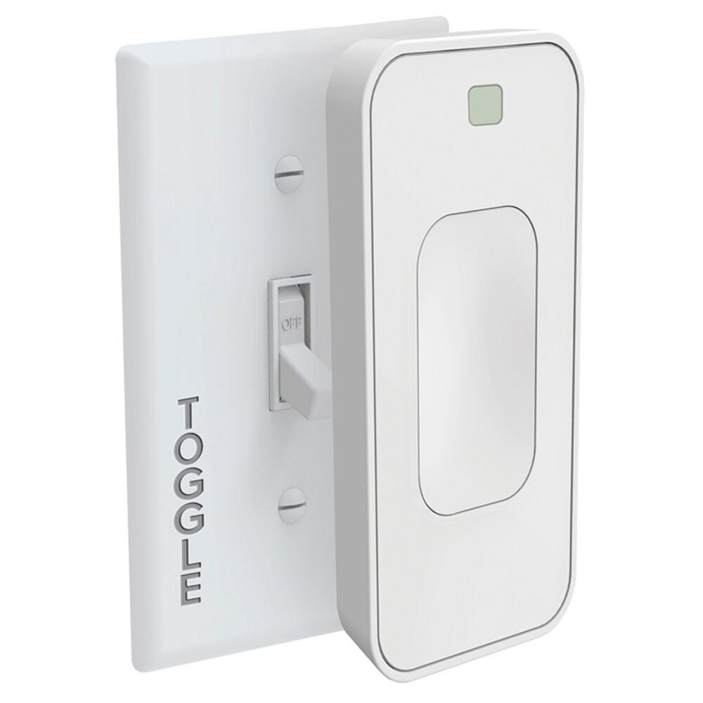 Switchmate Bright Toggle Smartlight Switch Tsm003w The Home Depot Light Switches Cooper Wiring Devices 15amp Gray Double Pole