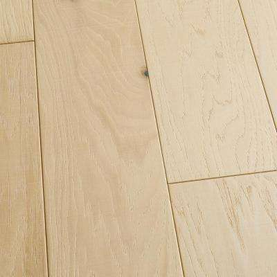 Take Home Sample - Hickory Vallejo Tongue and Groove Engineered Hardwood Flooring - 5 in. x 7 in.