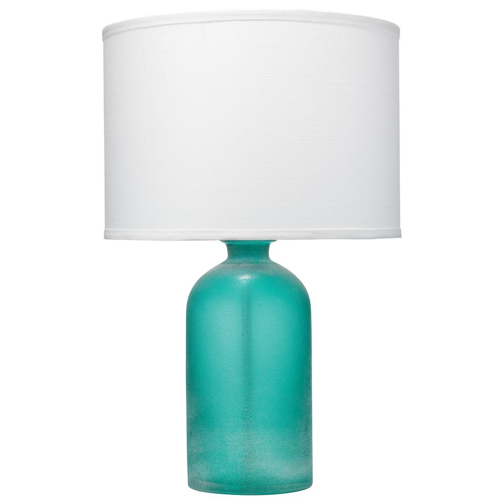 Aqua Surfside Table Lamp With Shade