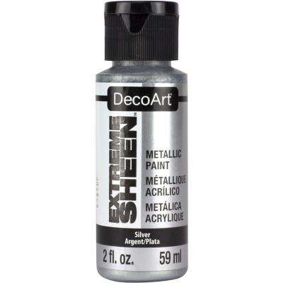 2 oz. Silver Metallic Paint