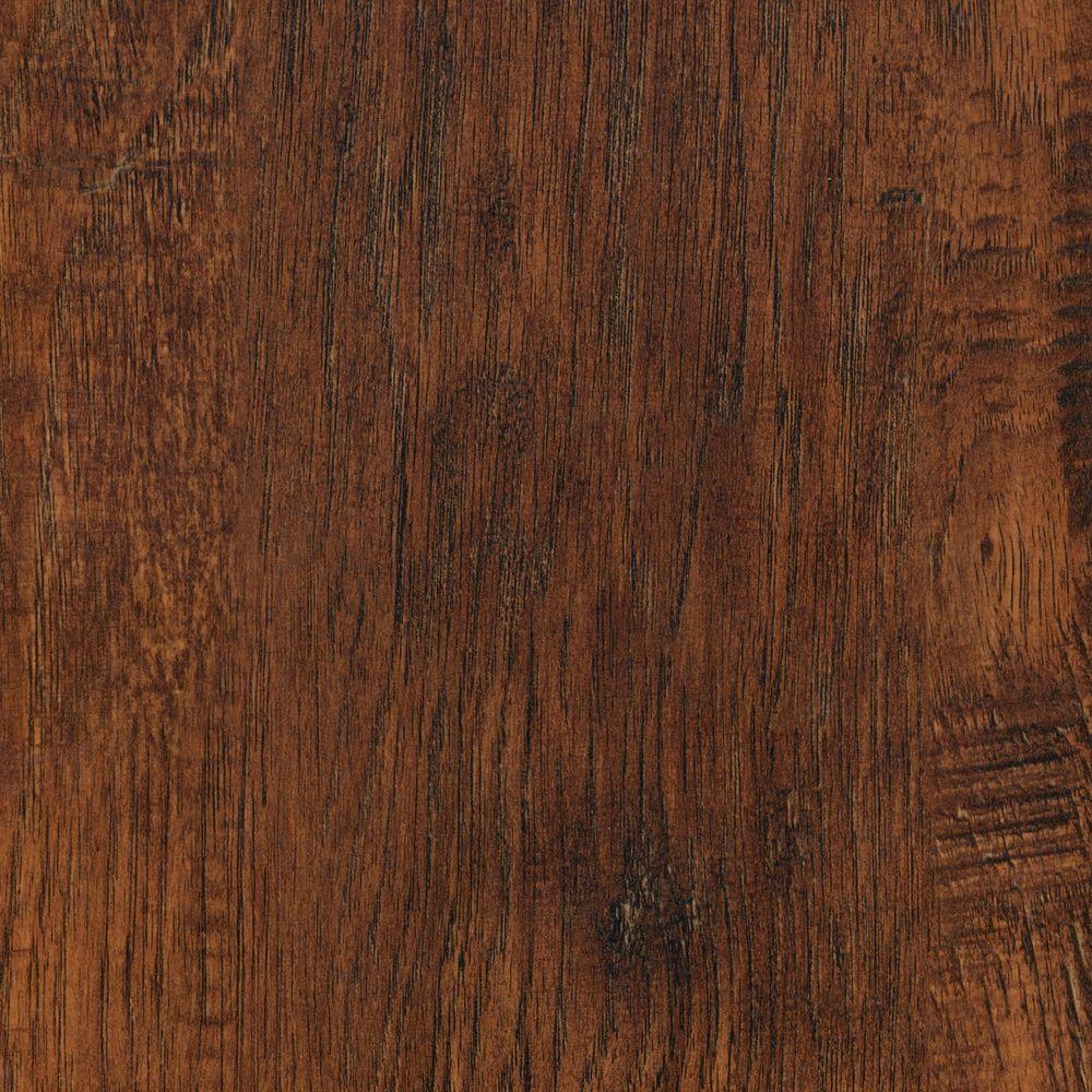 TrafficMASTER Embossed Alameda Hickory 7 mm Thick x 7-3/4 in. Wide x 50-5/8 in. Length Laminate Flooring (24.52 sq. ft. / case)