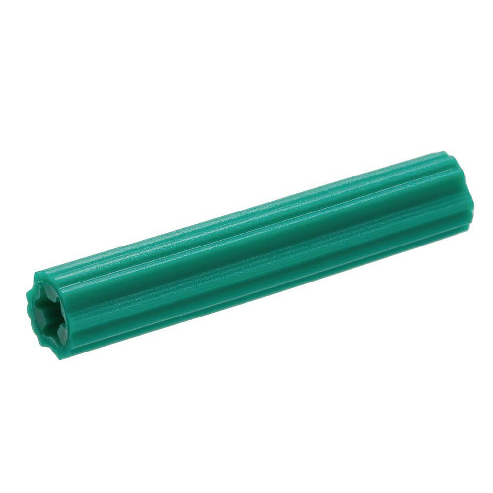 Crown Bolt 10 12 X 1 In Green Plastic Plug 12 Pack