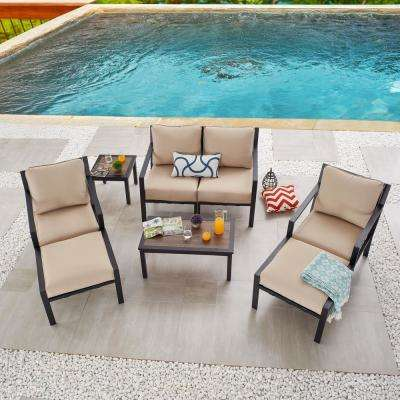 Patio Festival X Back 8 Piece Metal Patio Conversation Seating Set With Beige Cushions Pf20725 724 723x2 211 210 150x2 The Home Depot