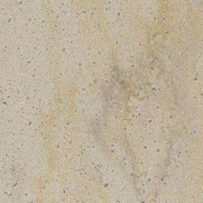 2 in. x 2 in. Solid Surface Countertop Sample in Burled Beach