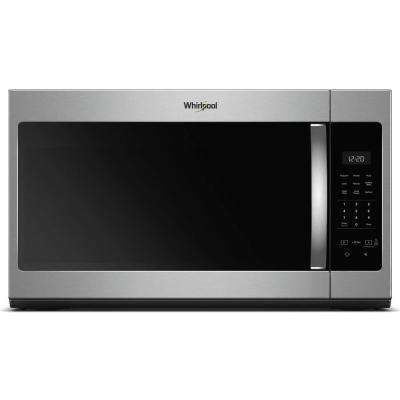 30 in. W 1.7 cu. ft. Over the Range Microwave in Stainless Steel with Electronic Touch Controls