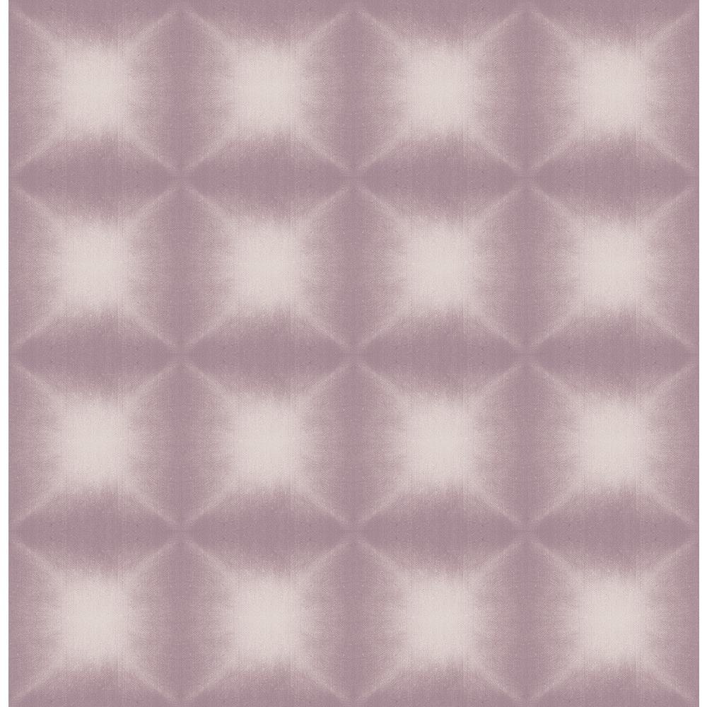 Echo Purple Geometric Wallpaper Sample
