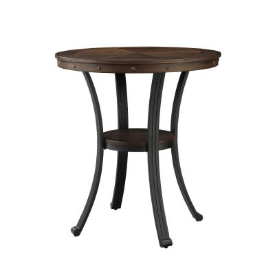 Franklin Rustic Umber Pub Table