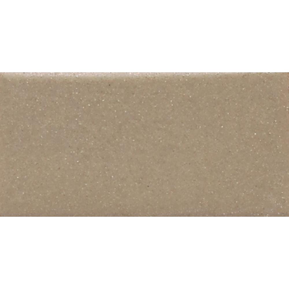Rittenhouse Square Matte Elemental Tan 3 in. x 6 in. Ceramic Subway Wall Tile (12.5 sq. ft. / case)
