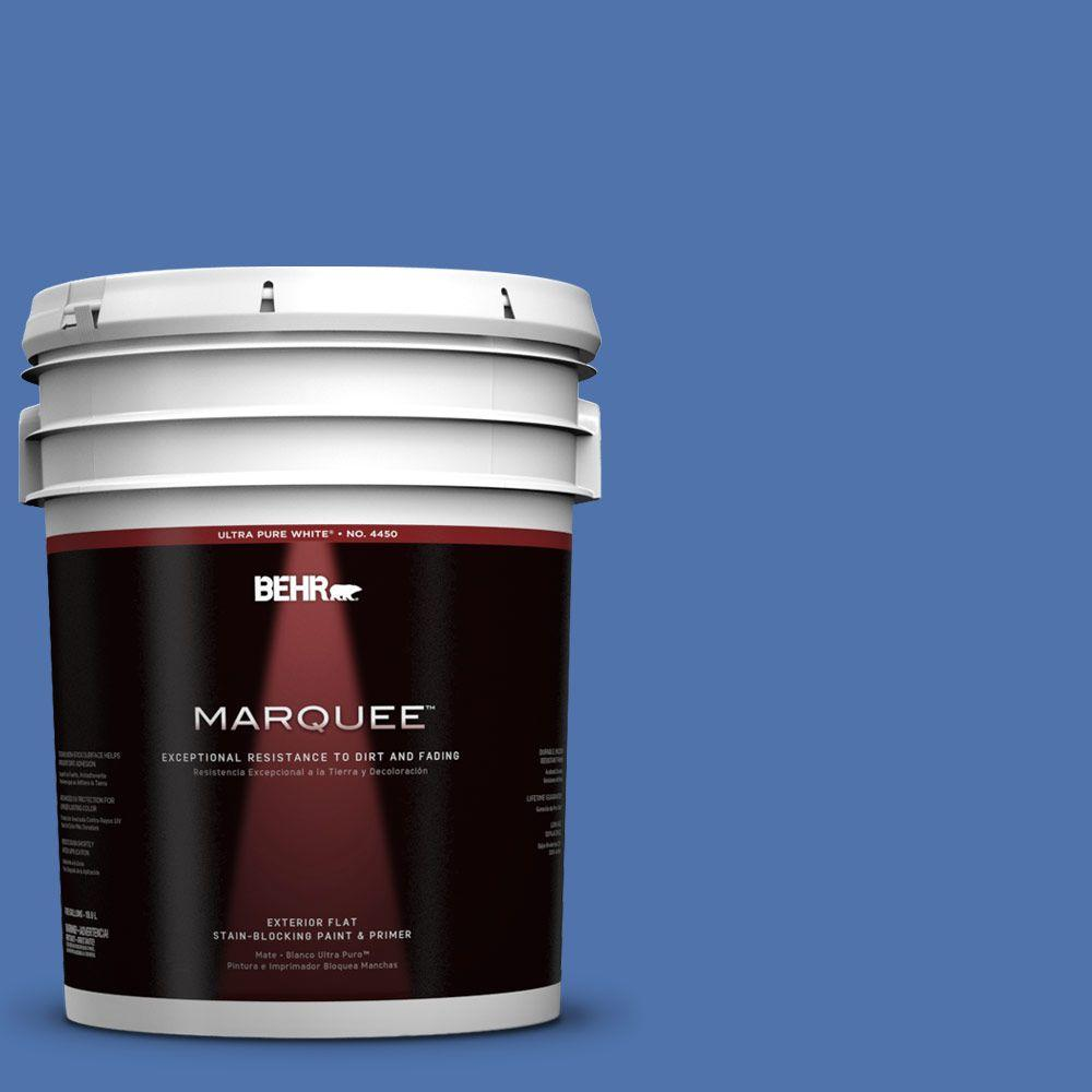 BEHR MARQUEE 5-gal. #590B-6 Flying Fish Flat Exterior Paint