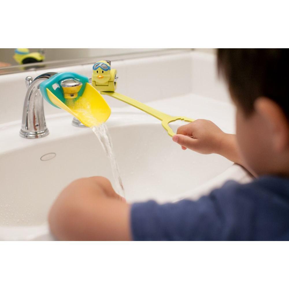 Aqueduck Bath Faucet 2-Handle Extender