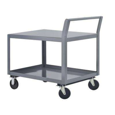 24 in. W All Purpose Heavy Duty Welded Truck and Utility Cart